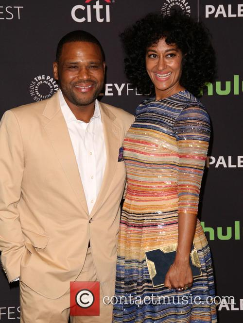 Anthony Anderson and Tracee Ellis Ross 7