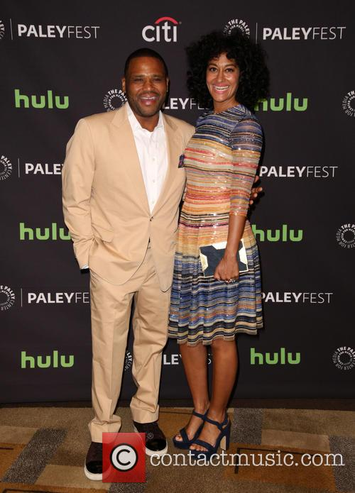 Anthony Anderson and Tracee Ellis Ross 8
