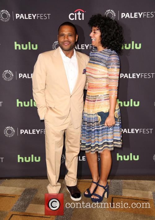 Anthony Anderson and Tracee Ellis Ross 9