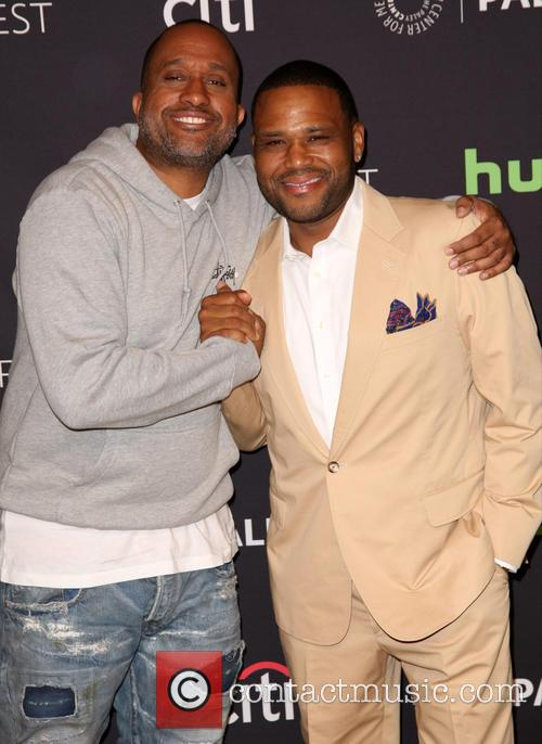 Kenya Barris and Anthony Anderson 2
