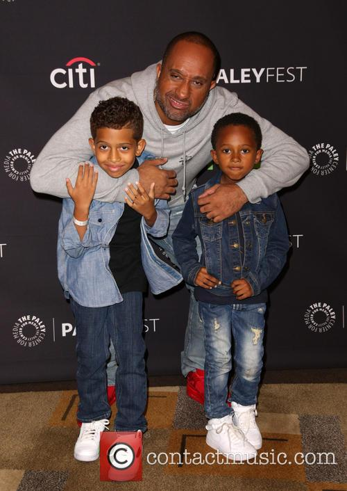 Kenya Barris and Family 3