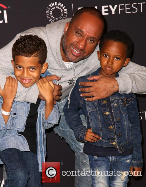 Kenya Barris and Family 4