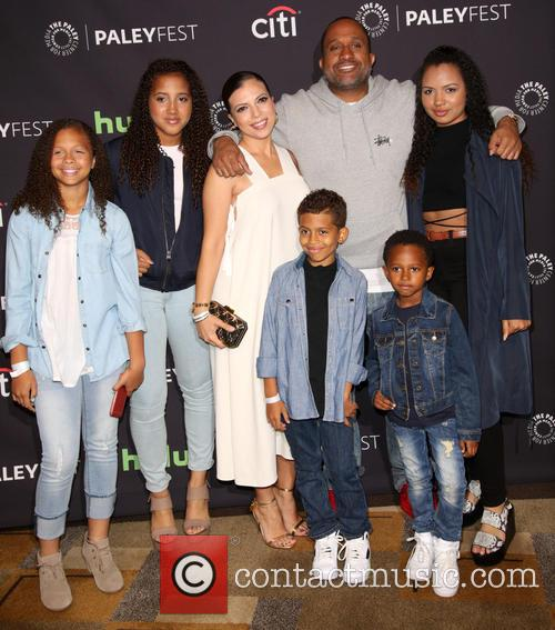 Kenya Barris, Family and Dr. Rainbow Edwards-barris 5