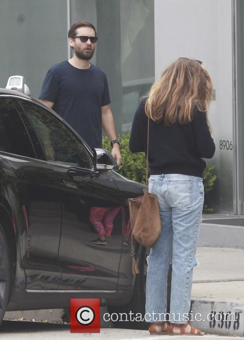Tobey Maguire and Jennifer Meyer 3
