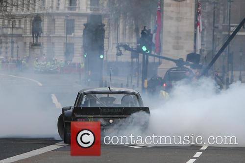 'Top Gear' filming in London