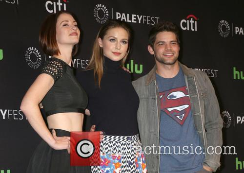 Chyler Leigh, Melissa Benoist and Jeremy Jordan 3