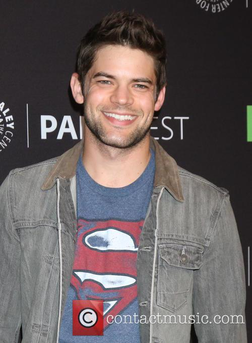 Jeremy Jordan certainly has the superhero smile down!