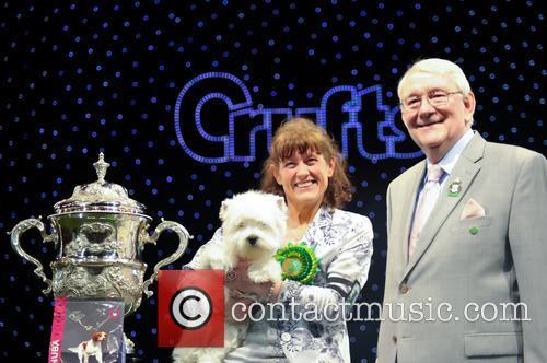 Marie Burns, Devon and Ch Burneze Geordie Girl 7