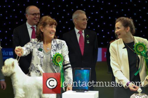Marie Burns, Devon and Ch Burneze Geordie Girl 11