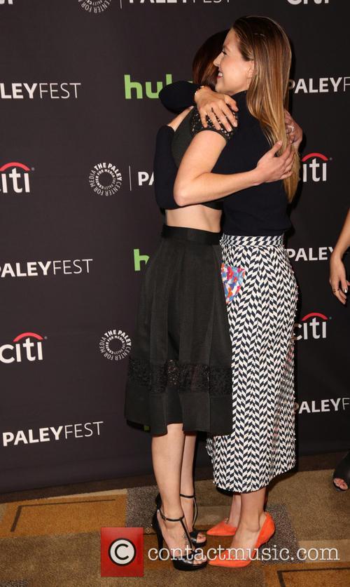 Chyler Leigh and Melissa Benoist 3