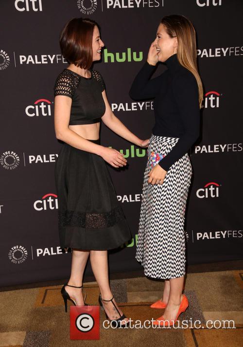 Chyler Leigh and Melissa Benoist 4