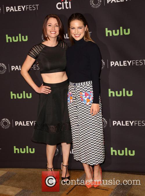 Chyler Leigh and Melissa Benoist 6