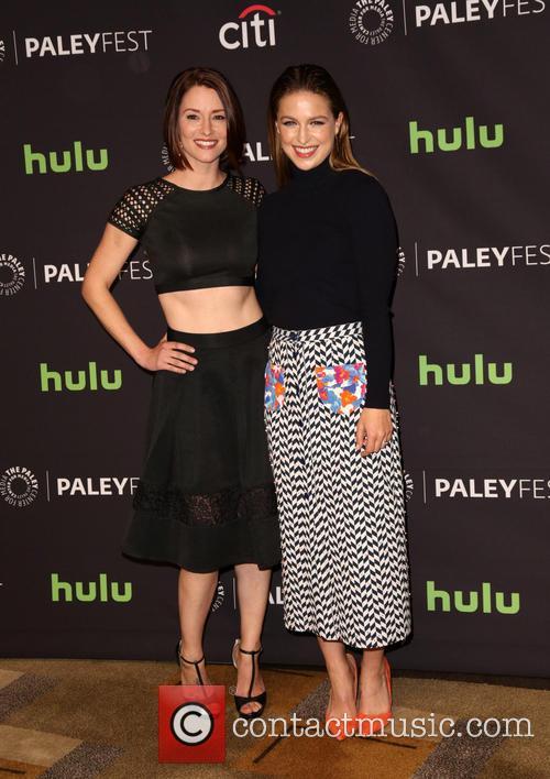 Chyler Leigh and Melissa Benoist 7