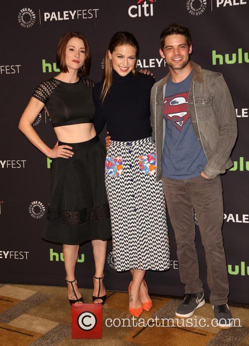 Chyler Leigh, Melissa Benoist and Jeremy Jordan 9
