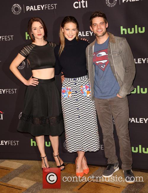 Chyler Leigh, Melissa Benoist and Jeremy Jordan 10