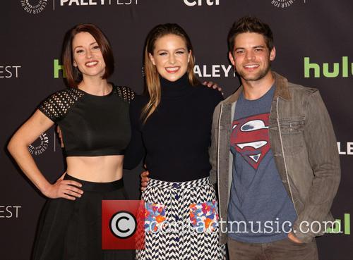 Chyler Leigh, Melissa Benoist and Jeremy Jordan 11