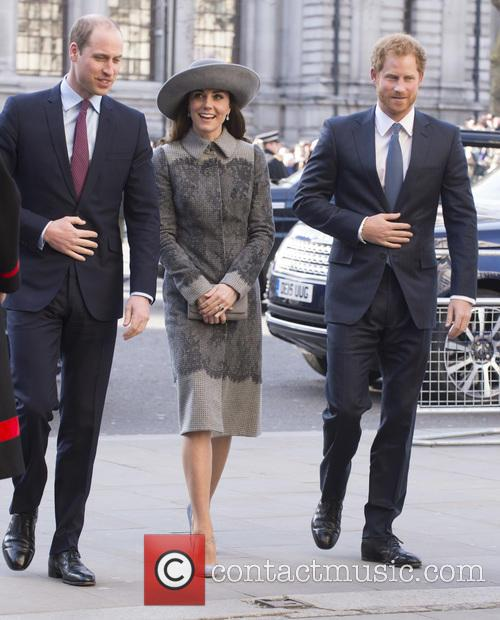 Duke Of Edinburgh, Duchess Of Cambridge and Prince Harry 1