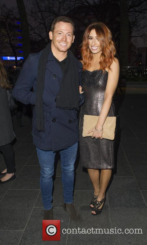 Joe Swash and Stacey Solomon 1