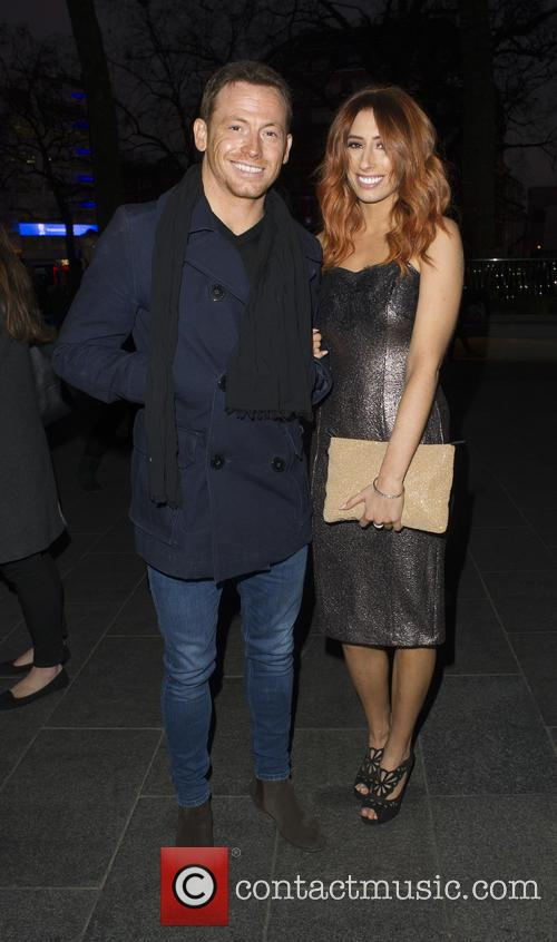 Joe Swash and Stacey Solomon 2