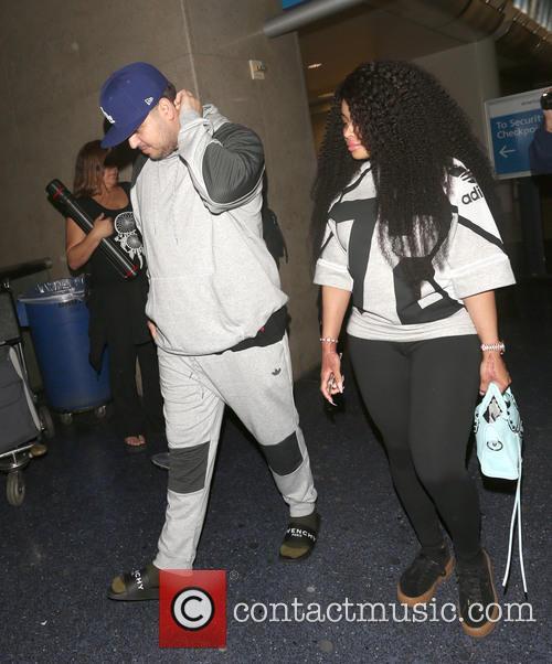 Rob Kardashian and Blac Chyna 2