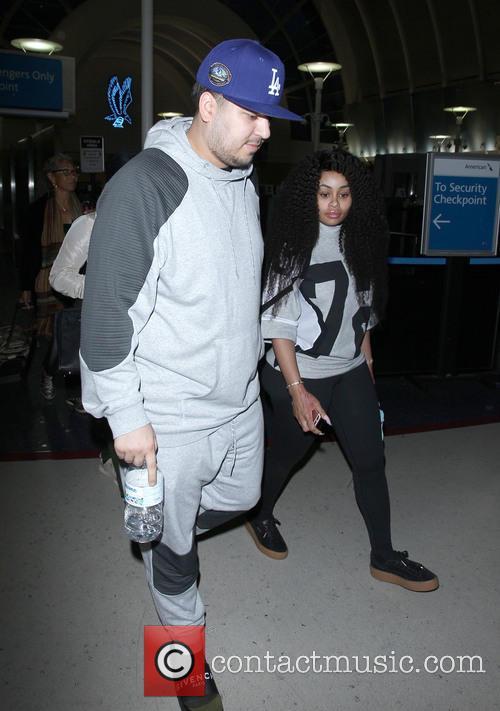 Rob Kardashian and Blac Chyna 8