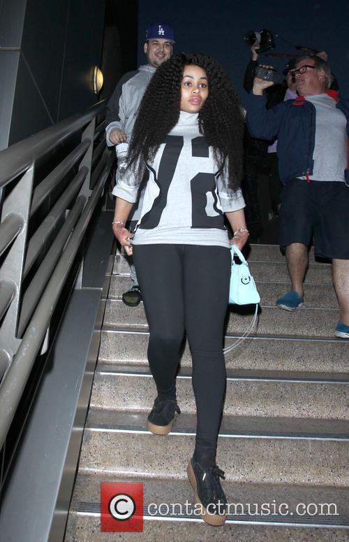 Rob Kardashian and Blac Chyna 9