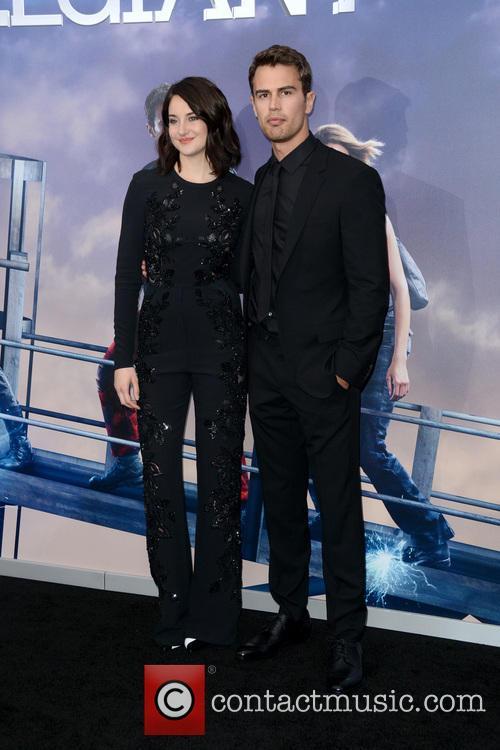 Shailene Woodley and Theo James 4