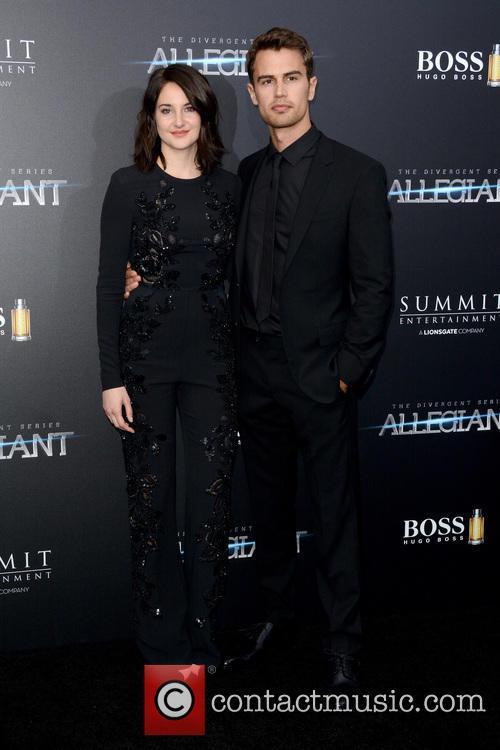 Shailene Woodley and Theo James 5
