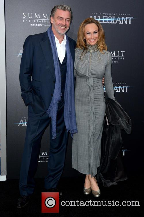 Ray Stevenson and Elisabetta Caraccia