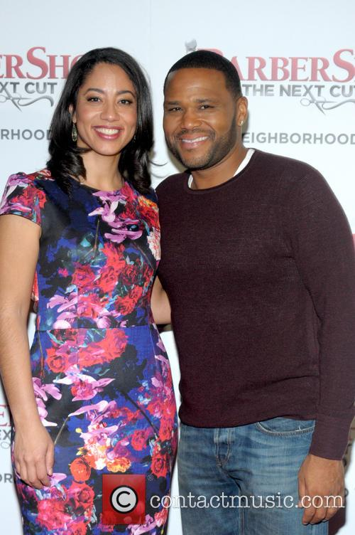 Liz Dozier and Anthony  Anderson 1