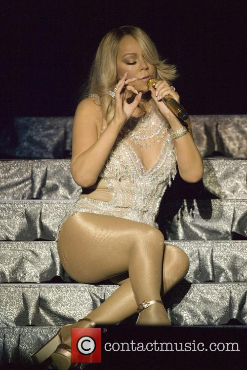 Mariah Carey live at the SSE Hydro in...