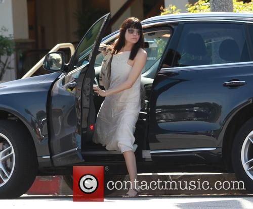 Selma Blair goes out in Studio City wearing...