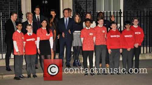 Sports Relief reception - Arrivals