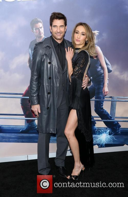 Dylan Mcdermott and Maggie Q 1