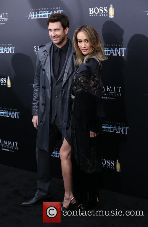 Dylan Mcdermott and Maggie Q 5