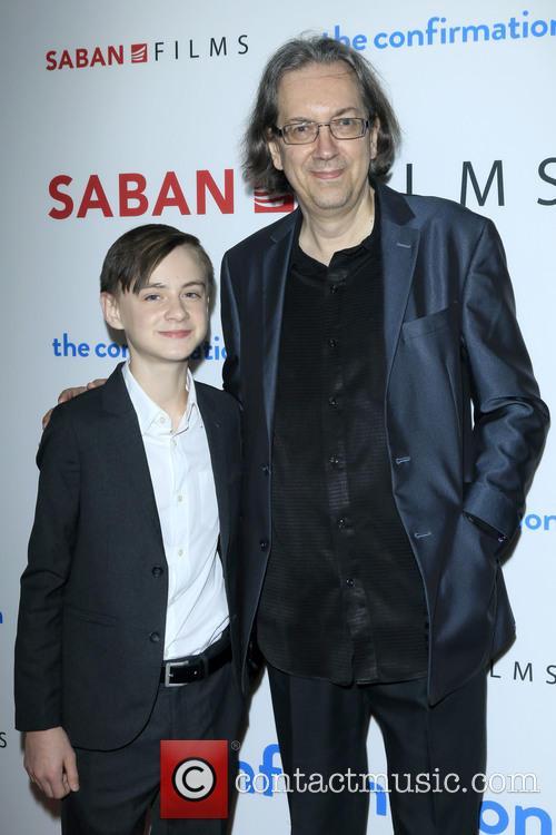 Jaeden Lieberher and Bob Nelson 5