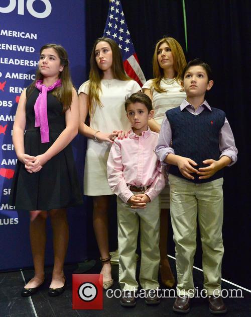 Amanda Rubio, Daniella Rubio, Dominick Rubio, Anthony Rubio and Jeanette Dousdebes Rubio 1