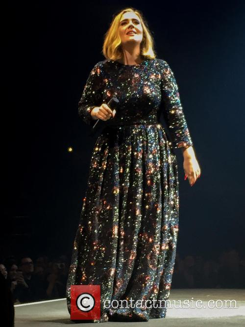 Adele Brings Newly Engaged Couple On Stage (But At First She Thought It Was A Fight)