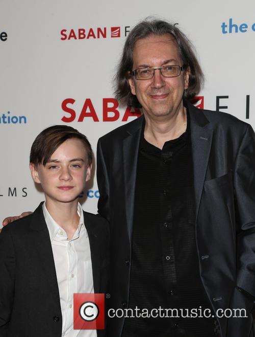Jaeden Lieberher and Bob Nelson 6