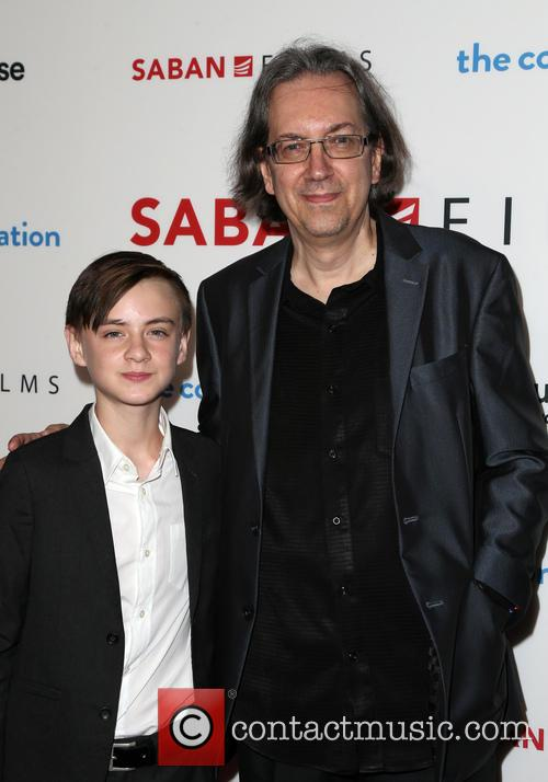 Jaeden Lieberher and Bob Nelson 7