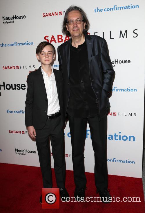 Jaeden Lieberher and Bob Nelson 9