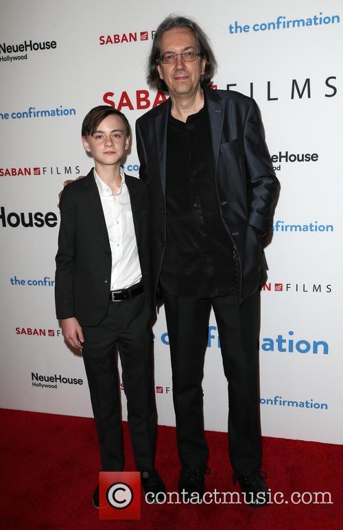 Jaeden Lieberher and Bob Nelson 10