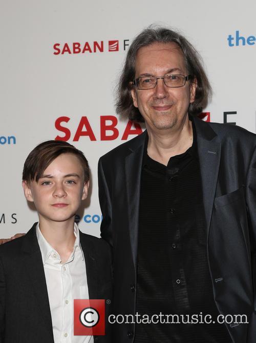 Jaeden Lieberher and Bob Nelson 11