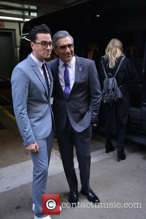 Eugene Levy and Daniel Levy 8