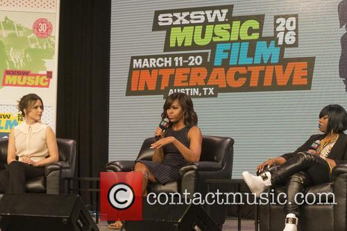Sophia Bush, Michelle Obama and Missy Elliott 3