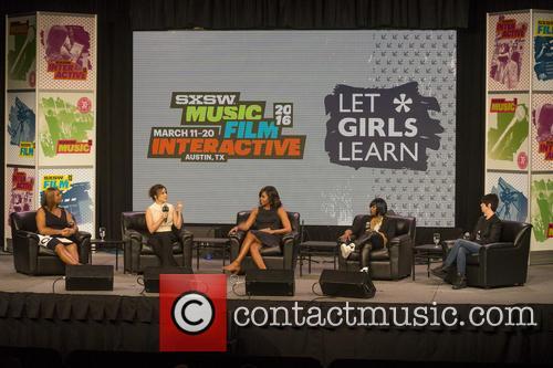 Queen Latifah, Sophia Bush, Michelle Obama and Missy Elliott 2