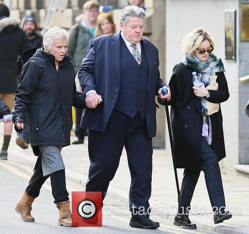Robbie Coltrane, Julie Walters and Andrea Riseborough 1