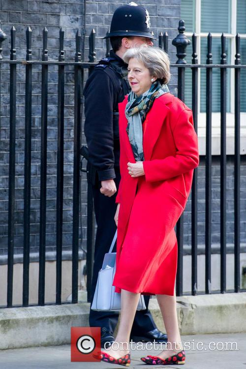 Theresa May and Secretary Of State For The Home Department 1