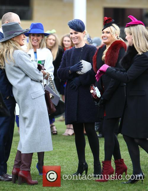 Zara Phillips, Zara Tindall, Carla Germaine and Chanelle Mccoy 2