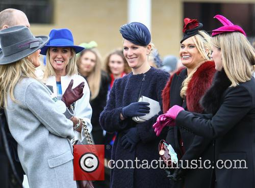 Zara Phillips, Zara Tindall, Carla Germaine and Chanelle Mccoy 3